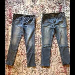 AE American Eagle Jeans 2 pair Size 12